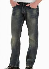 Lee Mens Blue Size 48X30 Big & Tall Relaxed Straight Leg Jeans Stretch $70 #126