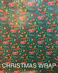 DISNEY THE GRINCH (NAUGHTY OR NICE) - WRAPPING PAPER 20 SQ FT🎄🎁 SALE