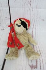 Disney Parks Duffy Bear Hidden Mickey Pirates of the Caribbean 12'' Plush Bear.