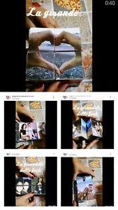 Idea Regalo SAN VALENTINO Cubo rubik magico Personalizzabile con Foto fidanzata
