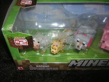 Minecraft Overworld Animal Mobs Action Figure Toy Set 6 - Pack New in Package