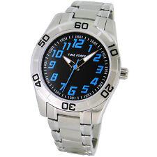 TIME FORCE TF-4134B01M  RELOJ CADETE ACERO  ANALOGICO  50M