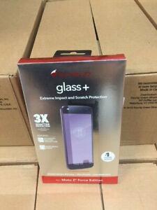 Original Zagg Invisible Shield Glass Screen For Moto Z2 Force Edition (NEW)