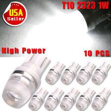10x T10 Wedge High Power 1W LED Light Bulbs Xenon White W5W 192 168 194