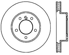 Disc Brake Rotor-Sport Drilled/Slotted Disc Front Right fits 04-10 BMW X3