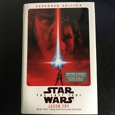 Star Wars: The Last Jedi - Expanded Edition (Hardcover Book, 2018) B&N Exclusive