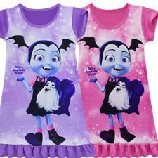 Vampirina Kids Girls Casual Cosplay Costume Party Nightdress Summer Dress