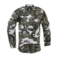 Army Short Military Combat Tactical Work Rip Stop US DPM Camo Black Beige Green