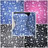 Polar Fleece Anti Pill Fabric Premium Quality Soft Material Pose & Paws Prints