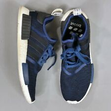 Adidas NMD R1 Mystery Blue Collegiate White Boost Mens Size 13 BY2775