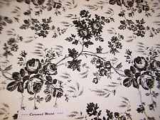 Toile Contact Paper Black White Rose Quick Cover Shelf Liner 4.5 Ft nip