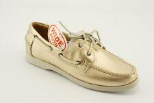 NEW White Mountain Headsail Metallic Leather Boat Moc Shoes sz 8.5 Mismates