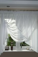Belle fini rideau avec fil rideau NEUF ag3 rideau de voile top design set