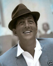 "DEAN MARTIN HOLLYWOOD ACTOR SINGER MOVIE STAR 8x10"" HAND COLOR TINTED PHOTOGRAPH"