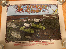 Dave Matthews Band Poster 2011 Caravan Gorge Poster Spusta 9/2 9/3 9/4