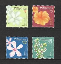 PHILIPPINES 2018 FLOWERS COMP. SET OF 4 STAMPS IN MINT MNH UNUSED CONDITION
