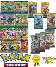 Pokemon Sealed Booster Packs from XY & Sun & Moon Series Pokemon Sets Cards TCG