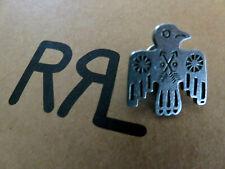 RRL RALPH LAUREN Double RL Thunderbird Pin Badge Shield