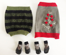 Dog Sweater and Boots Small Breed Martha Stewart Top Paw