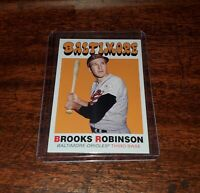 BROOKS ROBINSON 2020 TOPPS THROWBACK THURSDAY #TBT PRINT RUN ONLY #/570 #89 #HOF