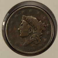 1838 1c Coronet Head Large Cent SKU-Y2592