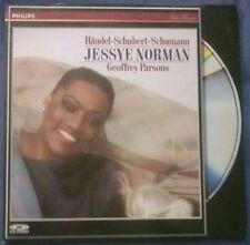 JESSYE NORMAN Geoffrey PARSONS 1987 Laserdisc Hohenems Festival  Händel Schubert