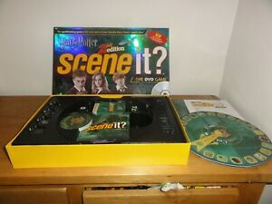SCENE IT HARRY POTTER 2nd EDITION BOARD GAME  (CARDS SEALED)