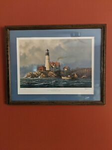"John Morton Barber ""MISTY MORNING"" Framed Print"