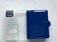 Filofax Pocket Patent Blue