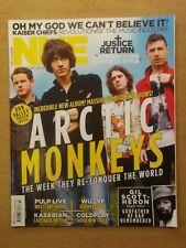 NME JUNE 11 2011 ARCTIC MONKEYS PULP KASABIAN COLDPLAY GIL SCOTT-HERON WU LYF