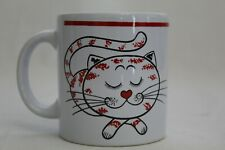 Waechterbach W Germany Vintage Sleeping Cat Coffee Cup Mug
