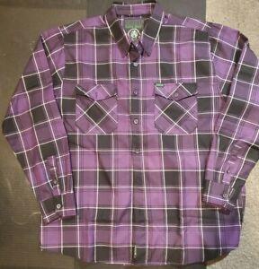 NWOT Mens DIXXON Flannel Co. THE REGAN XXL Never Worn NO Bag/Tag 2XL