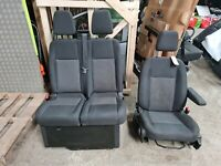 2014 -2020 FORD TRANSIT CUSTOM FRONT SEAT SET PASSENGER DRIVER SEATS
