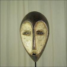 40682) Afrikanische Lega Maske Kongo Afrika KUNST