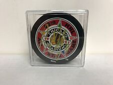 Adam Oates 1991 ALL STAR GAME Signed NHL Hockey Puck with Display Case