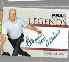 "Glenn ""900"" Allison PBA autograph card by Rittenhouse"