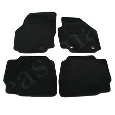 Ford Mondeo Mk4 2007-2013 Fully Carpet Car Mats Black Tailored 4pc Floor Mat Set