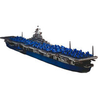 U.S Fearless Aircraft Carrier 3D Paper Model Class Aegis Destroyer Warship T~U_X
