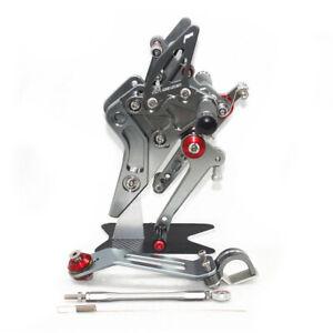 Adjustable Rearset pedal Kawasaki Z800  ZR800 ABS 2013-2016 rearsets foot pegs