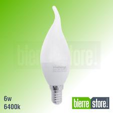 LAMPADINA LED ATTACCO E14 6W A GOCCIA 480 LUMEN 20 PEZZI  LUCE FREDDA 6400K