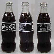 Coca Cola Coke Black Label 330ml GLASS CROWN SEALED BOTTLE AUSTRALIAN UNOPENED