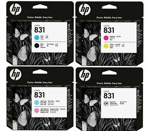 GENUINE HP831 LATEX PRINTHEADS, CHOICE OF 4 TYPES IN LOT - SWIFTLY POSTED