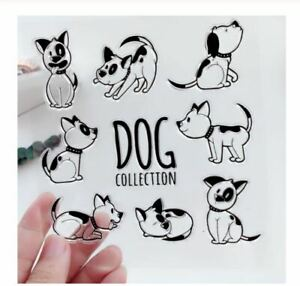 The Dog Collection Craft Stamps (CS 71)