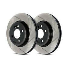 Stoptech Slotted Brake Discs Front For Mercedes-Benz C-Class W203 C55 AMG 05-07