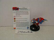 HeroClix DC Superman/Wonder Woman #049 Superman Super Rare!!!!!
