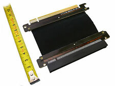 Riser PCI EXPRESS 16x - Nappe Blindée SEMI RIGIDE- PCIE