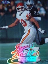 Nfl 134 James Hasty Kansas City Chiefs Fleer ultra 1999
