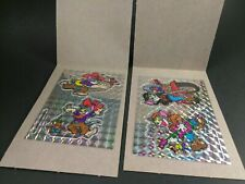 Tom And Jerry Vintage Rare 1994 Prism Vending Stickers Lot Of 2