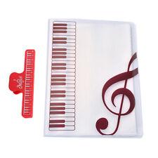 40 Sheets A4 Music Book Folders Piano Score Band Choral Insert Type Folder