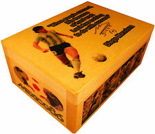Diego Maradona figure, World Cup Mexico 86, Soccer cards BOX Panini Autographed